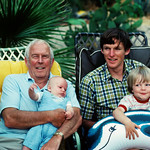 Grandpa Donald, Chris, young Donald and Ben MacAskill