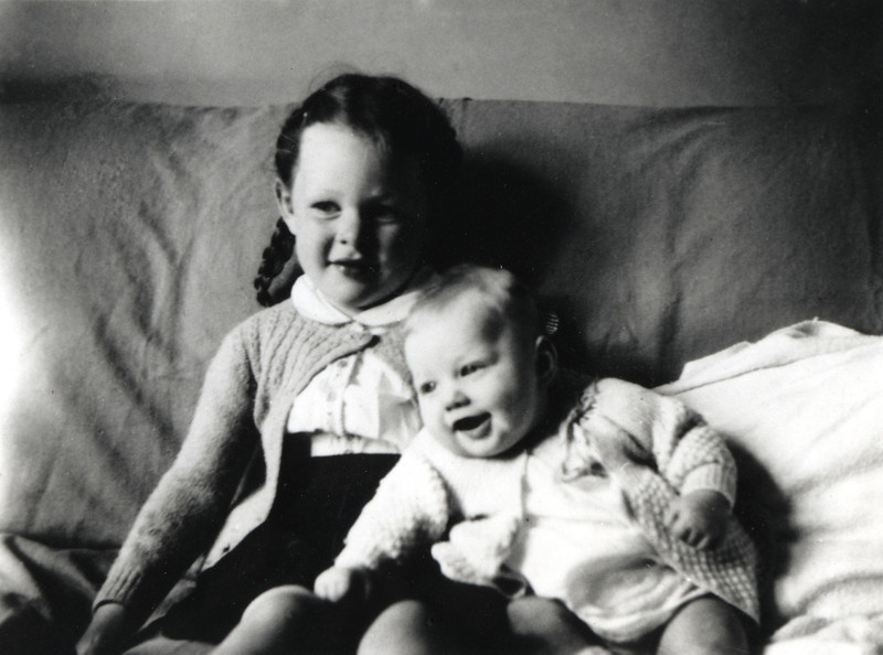 Chris with sister robin