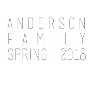 Anderson Family Spring 2018