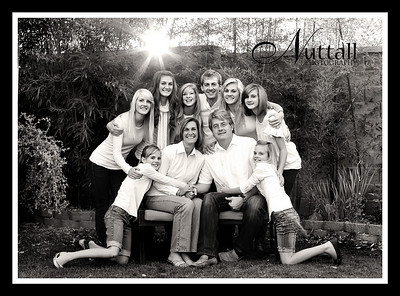 Anderson Family 024bw