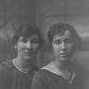 Amy Penny (L), 23 and Meredith Sinclair Penny (sisters) (R) age 21. Meredith was Martin's mother.