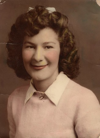 Anna Winifred (Winnie) Hildebrand Anderson (Jan. 13, 1922 - July 17, 2017)