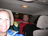 Andrew and Brenda arriving in Seattle.  One full car!