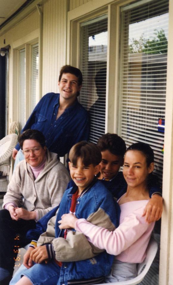 Andrew, Kris, Caroline and kids