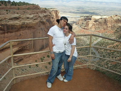 Donald & Tiffany at The Colorado National Monument