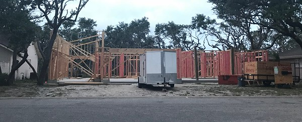 Slowly making progress. We had some set backs on the boat garage framing and had to redo but moving forward again. I think it is big enough. I drew the 12' door height. 2 car garage door is 8' tall so I can get trucks in if I win the lottery.
