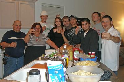 Daniel grad party