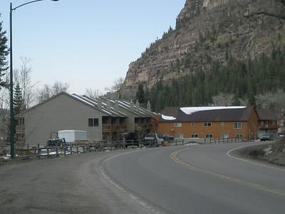 The condo complex