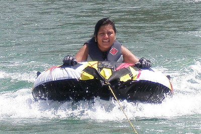 Norma's first time on a tube