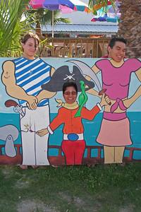 Tiffany, Norma and Donald at Fulton Beach