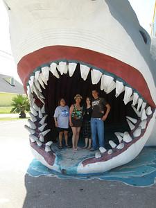 Paula, Norma, Tiffany and Donald at Port Aransas