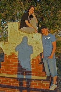 Tiffany and Donald at Texas Boarder