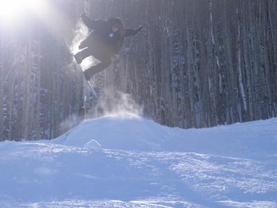 Grady on a jump