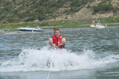 I am too old and heavy to enjoy one ski. Using two skis is alot less work, and therefore more fun.