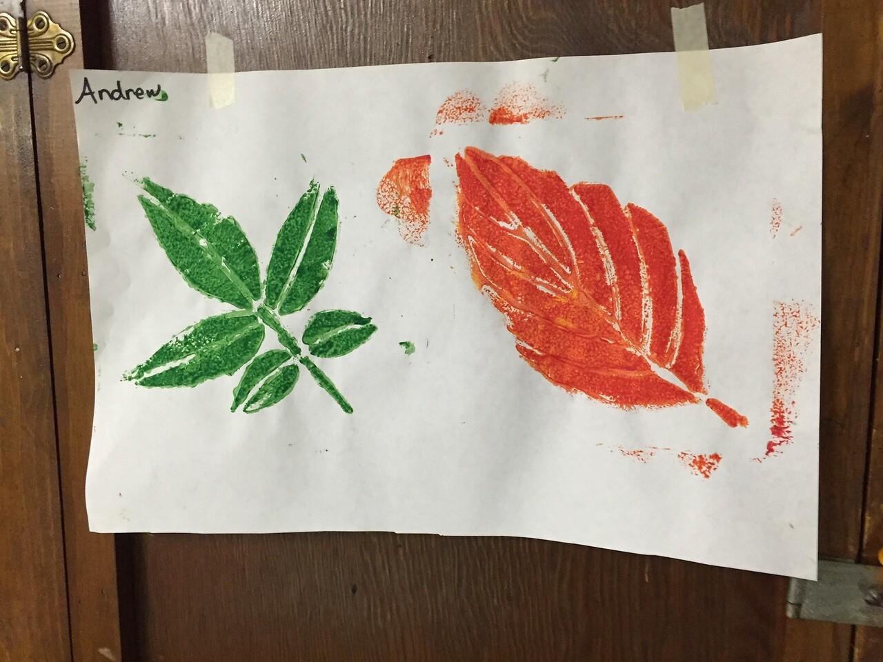 Pre-school artwork
