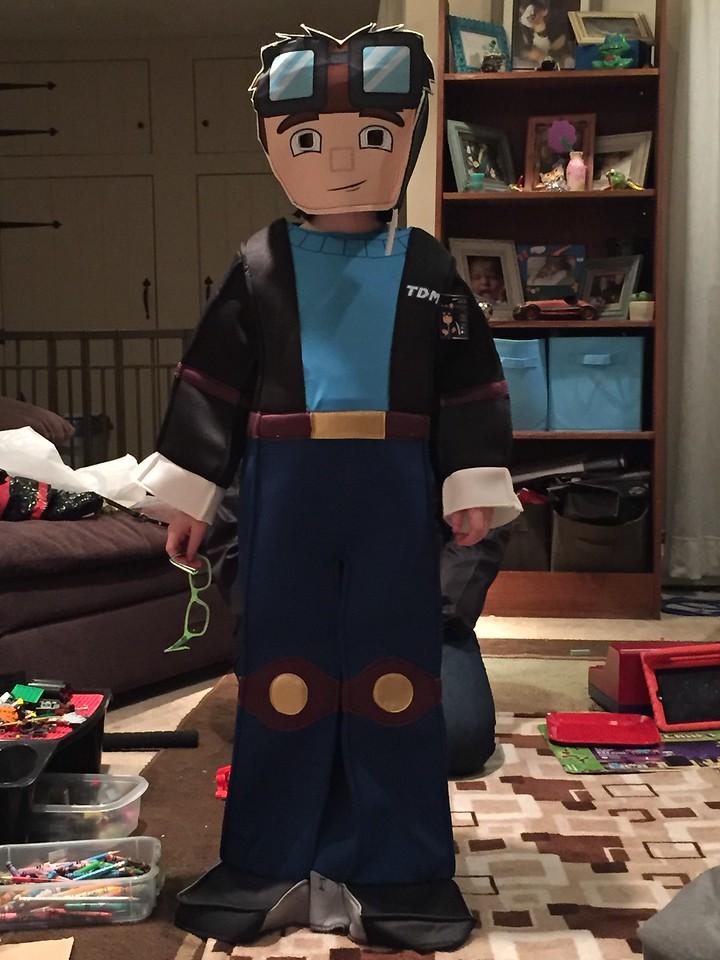 DanTDM costume