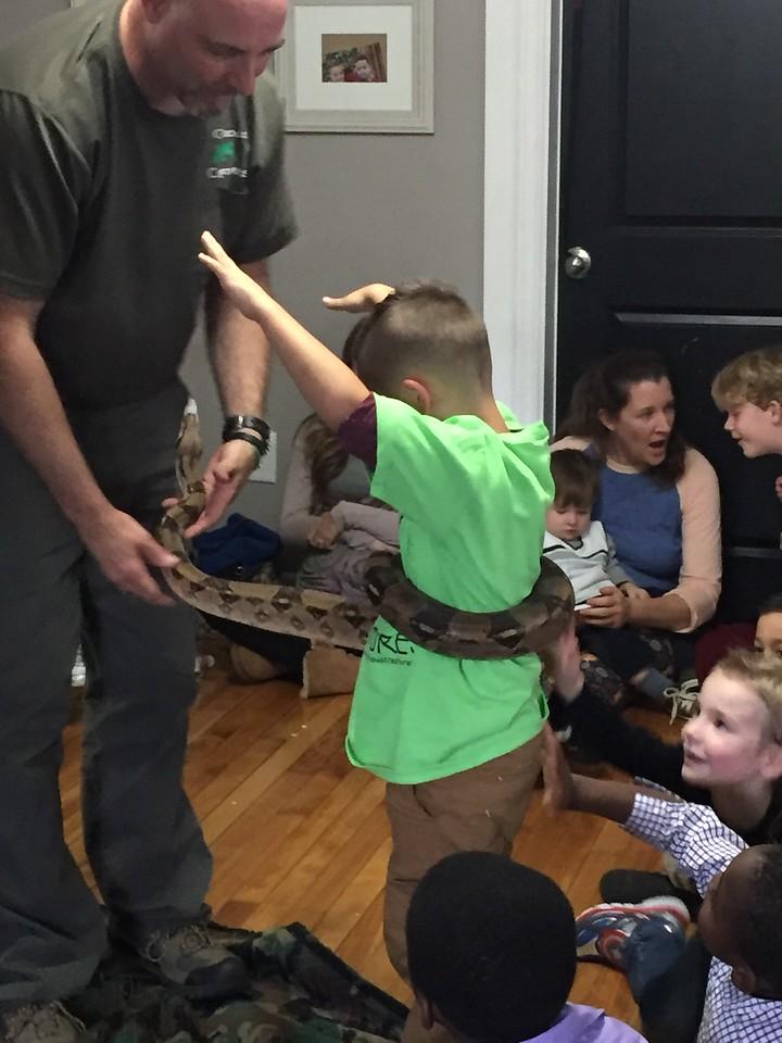 Anthony's birthday party.