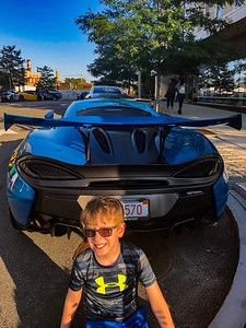 Supercars in Southie. McLaren 750S.