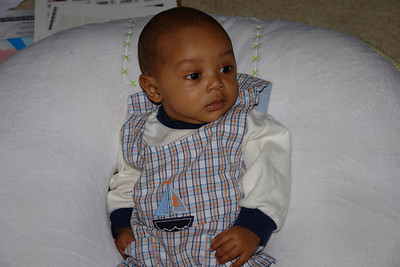 Andrew at 3 months + 3 weeks. July 15, 2006.