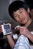 Andrew's new iPod nano.