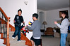 Temporary truce in the Nerf Gun Wars as opposing teams exchange Nerf bullets. Photo by Ly.