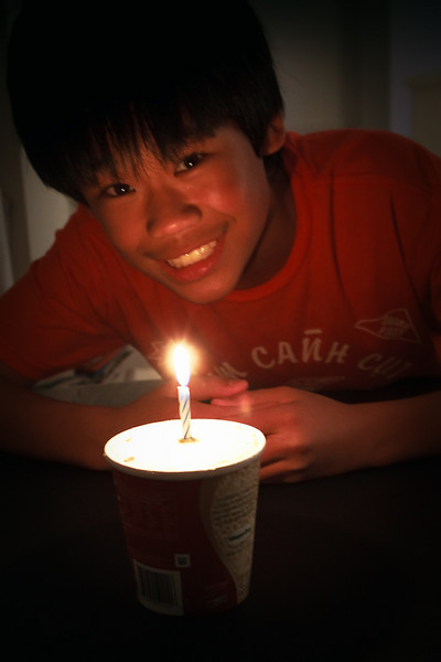 I can't believe Andrew is 14!