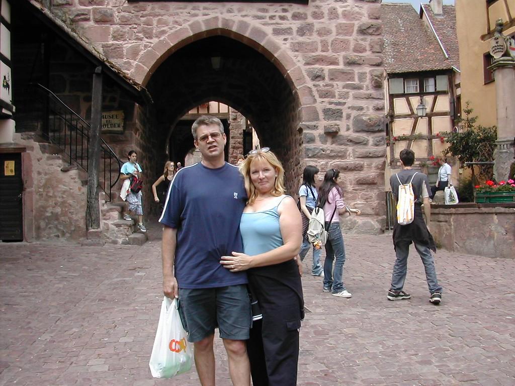Andy and Elaine Riquewihr