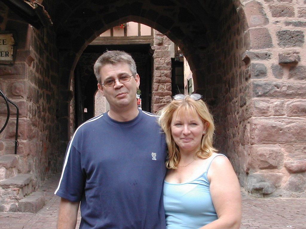 Andy and Elaine Riquewihr 2
