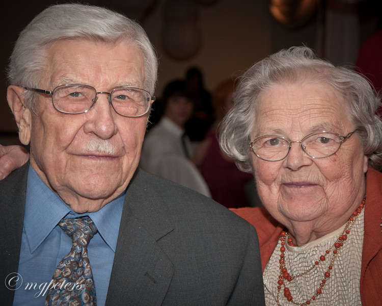 Uncle Jake and Aunt Margaret Peters