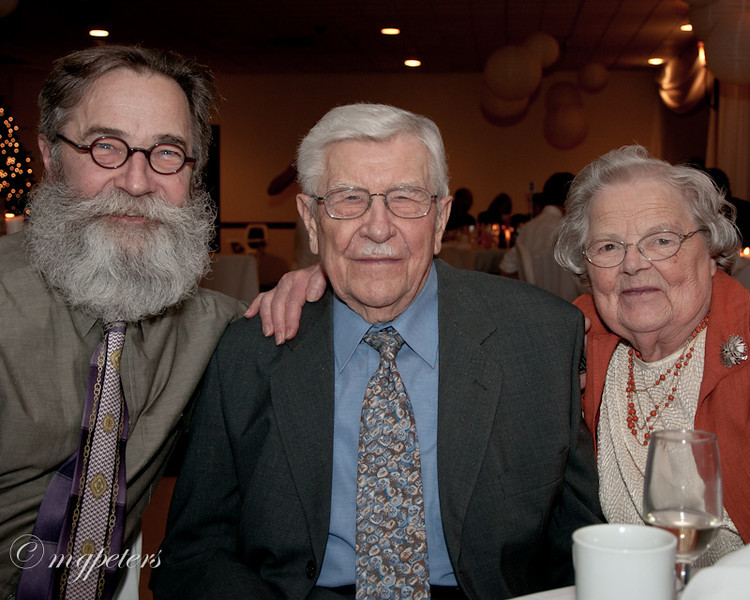 Cousin Gord (sporting the Great Grandpa Beard) with Uncle Jake and Aunt Margaret