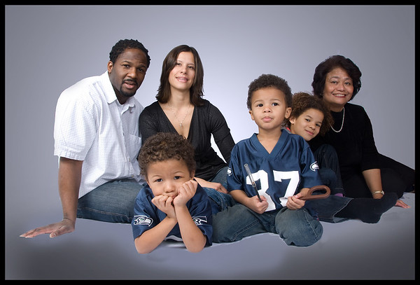 Andy and Darlene and Family