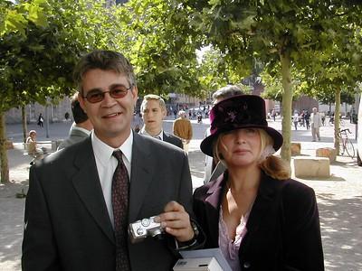 Andy & Elaine at Jim & Judith's wedding