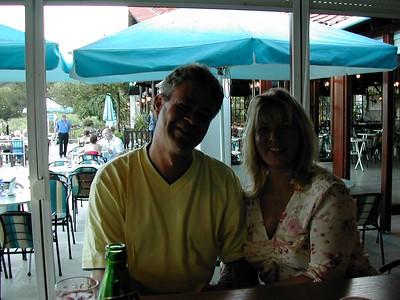 Andy & Elaine in Skiathos