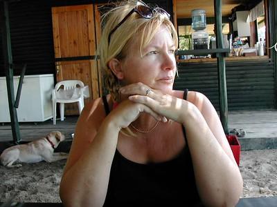 Elaine in Skiathos