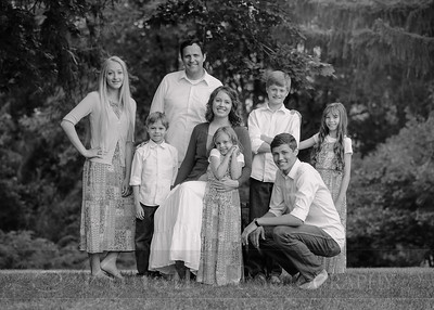Anderson Family 001bw