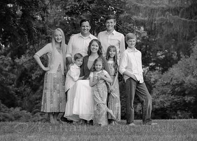 Anderson Family 005bw