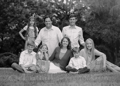 Anderson Family 012bw