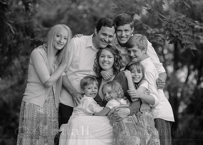 Anderson Family 011bw