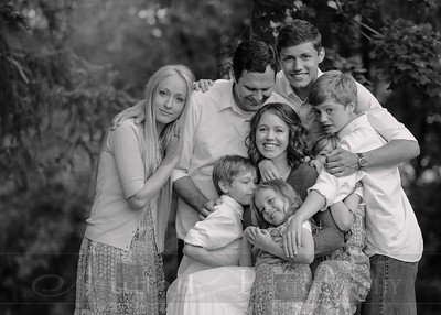 Anderson Family 009bw