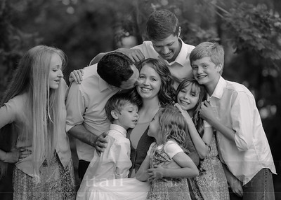 Anderson Family 008bw
