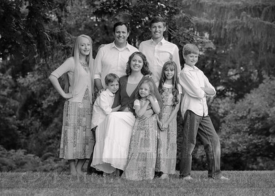 Anderson Family 003bw