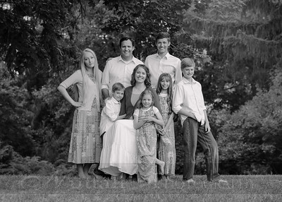 Anderson Family 004bw