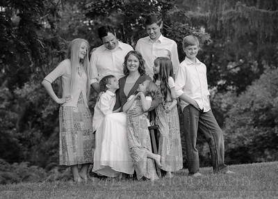 Anderson Family 006bw