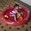 Pool time. 1st Birthday