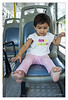 Anika in BEST bus