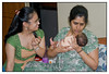 Her first scolding! <br /> One week old -  with Vini