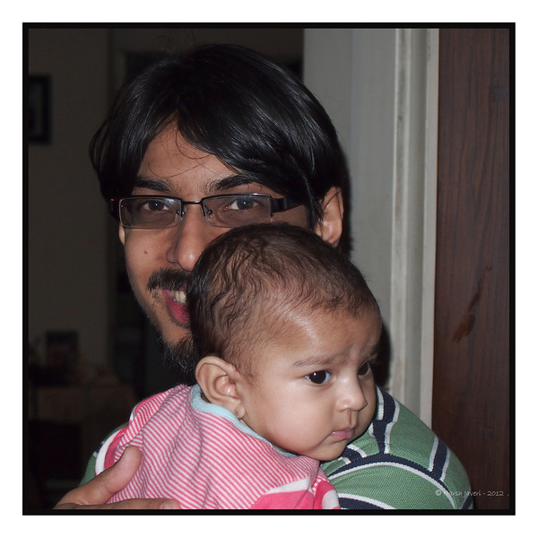 With papa 23-12-2011