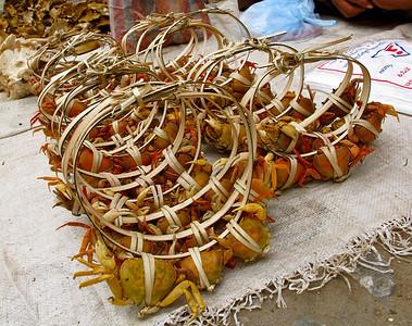 Crabs. Luang Prabang, Laos, 2009