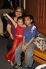Anjelle posing with her Lola and Kuya Kyle after her recital...