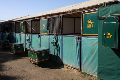 Isola Stables, where my sister trains.